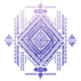 Tribal Aztec vintage pattern Royalty Free Stock Images
