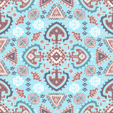 Tribal Aztec vintage seamless pattern Stock Photos