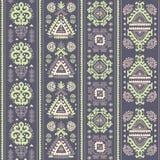 Tribal Aztec vintage seamless pattern Stock Photo