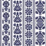 Tribal Aztec vintage seamless pattern Royalty Free Stock Photos