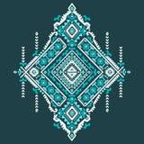 Tribal Aztec vintage seamless pattern Stock Photography