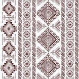 Tribal Aztec vintage seamless pattern Royalty Free Stock Image