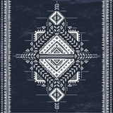 Tribal Aztec vintage seamless pattern Stock Photography