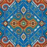 Tribal Aztec vintage seamless pattern Stock Image