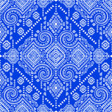 Tribal Aztec vintage seamless pattern Royalty Free Stock Images