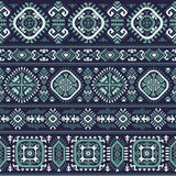 Tribal Aztec vintage seamless pattern Stock Images
