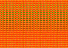 Tribal aztek geometrical pattern on orange Stock Photo