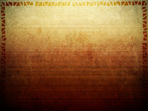 Tribal Background Texture. A background texture image with border in an ancient African tribal style royalty free illustration