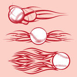 Tribal Baseballs Stock Photos