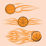 Tribal Basketballs Royalty Free Stock Photo