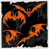 Tribal Bat. Royalty Free Stock Image