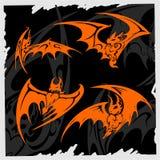 Tribal Bat. Stock Photo