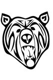 Tribal bear Stock Image