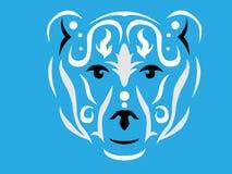 Tribal polar bear illustration vector illustration