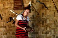 Tribal Beauty Royalty Free Stock Photography