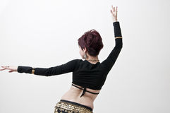 Tribal belly dancer Royalty Free Stock Photography