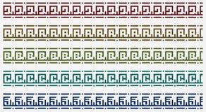 Tribal border pattern Royalty Free Stock Photos