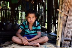 Tribal Boy Stock Photography
