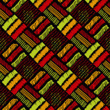 Tribal bright pattern. Stock Image