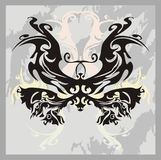 Tribal butterfly art Royalty Free Stock Photos