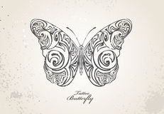 Tribal butterfly Stock Photos