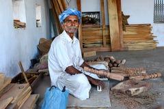 Tribal Carpenter Royalty Free Stock Photos