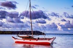 Tribal Catamaran Royalty Free Stock Images
