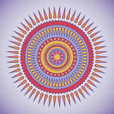 Tribal circle design. Royalty Free Stock Photo