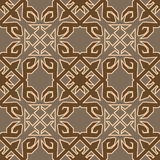 Tribal colored pattern 32 royalty free illustration