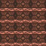 Tribal colored pattern 16 Royalty Free Stock Images