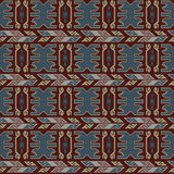 Tribal colored pattern 12 Royalty Free Stock Photos