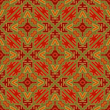 Tribal colored pattern 29 Royalty Free Stock Photos