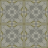 Tribal colored pattern 34. Seamless colored pattern. Saved in swatches Royalty Free Stock Photography