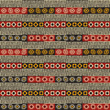 Tribal Colorful seamless texture Royalty Free Stock Image