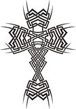 Tribal cross Royalty Free Stock Images