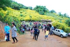 Tribal Culture. At Doi huamaekam, maehongsorn, thailand Royalty Free Stock Photo