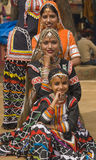 Tribal Dance Troupe Stock Image