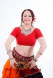 Tribal dancer Stock Images