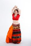 Tribal dancer Stock Photo
