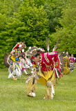 Tribal Dancers Royalty Free Stock Photos