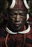 Tribal de Nagaland Images libres de droits
