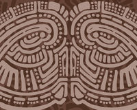 Tribal design background royalty free illustration