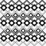 Tribal design. black and white abstract figure.  graphic. Tribal represented by black and abstract ethnic shape design, isolated and flat illustration Stock Photography