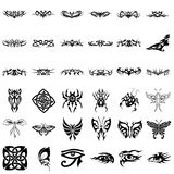 Tribal Design Collection #02 Stock Photography