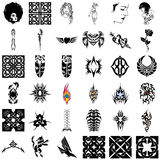 Tribal Design Collection #03 Royalty Free Stock Image