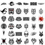 Tribal Design Collection #07 Stock Photo
