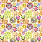 Tribal design - dots in style of aborigines of Australia. Seamless pattern. Hand painted contemporary art. Tribal design with dots in style of aborigines of Stock Image