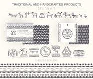 Tribal Design Kit Royalty Free Stock Photos