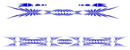 Tribal design tattoo Stock Photo