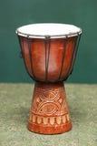 Tribal Drum  on White. Tribal Drum  on a white background Royalty Free Stock Photo